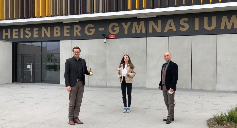 Amelie Gotterbarm wird bayerische Landessiegerin bei Jugend debattiert