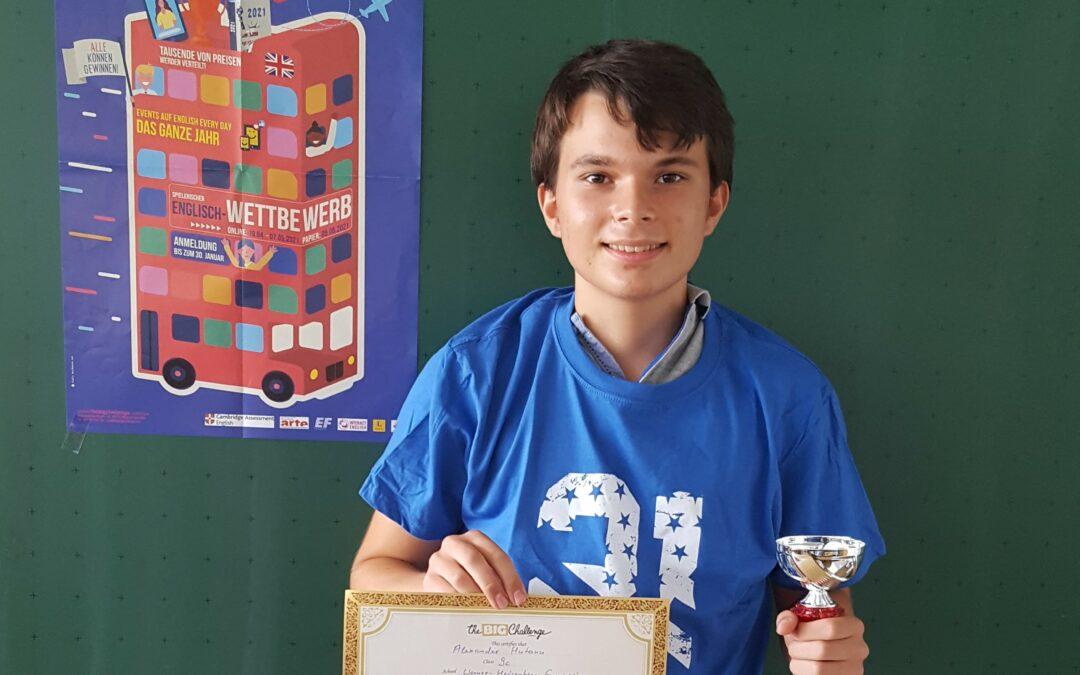 """WHG-Schüler feiern Erfolge beim Englisch-Wettbewerb """"The Big Challenge"""""""