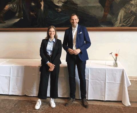 Sophia Ludewig erhält Landespreis im Geschichtswettbewerb